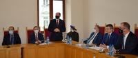 Uczestnicy spotkania w sądzie