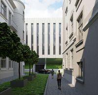 Wizualizacja nowego budynku Sądu