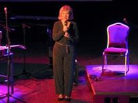 Gospodarz Zamku Renata Nowakowska na scenie