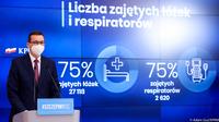 zdjęcie z konferencji prasowej Premiera Morawieckiego
