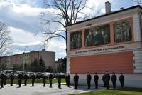 Żołnierze 5. batalionu uczestniczący w uroczystości