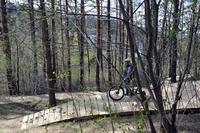 Trasy Fort Trails podczas budowy