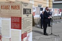 Wystąpienie Prezydenta i fragment wystawy
