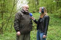 akcja sadzenia drzew w Parku na Lipowicy - wywiad nadleśniczego
