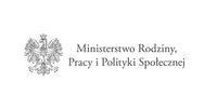 logo Ministerstwa Rodzony, Pracy i Polityki Społecznej