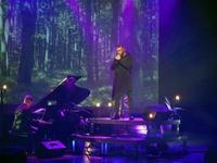 Voytek Soko Sokolnicki na scenie podczas koncertu