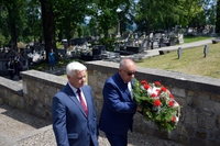 Galeria Odsłonięcie tablicy Szablocsa - cmentarz 9 czerwca 2021