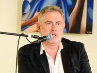 Marcin Kydryński podczas spotkania