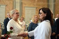Odznaczenie - wicewojewoda Podkarpacki Jolanta Sawicka i Barbara Furmańska
