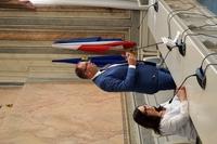 Wicewojewoda Jolanta Sawicka i Prezydent Wojciech Bakun