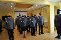 Uroczystości Święta Policji w Komendzie Policji w Przemyślu