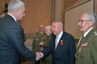 Odznaczenia dla emerytowanych wojskowych