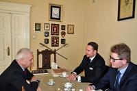 Galeria Wizyta Prezesa Fundacji Lubomirskich