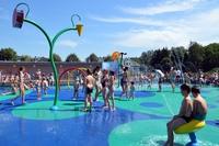 Galeria Wodny plac zabaw