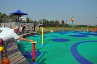 Galeria Otwarcie wodnego placu zabaw