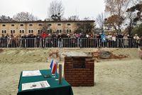 Galeria Kamień węgielny Dom Polski we Lwowie