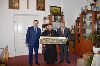 Wizyta u Biskupa Leona Dubrawskiego