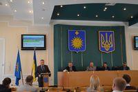 Wystąpienie Zastępcy Prezydenta Janusza Hamryszczaka na uroczystej sesji Rady Miasta Kamieniec Podolski