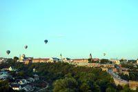 Pokaz balonowy nad Kamieńcem