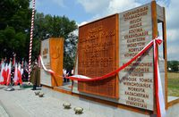 Galeria Odsłonięcie pomnika Zesłańców Sybiru i Ofiar Katynia - cz II
