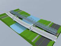 Galeria Most kolejowy koncepcja