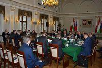 Galeria Spotkanie przewodniczących parlamentów państw Grupy Wyszehradzkiej