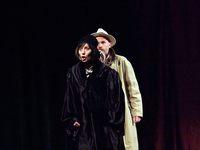 """Galeria Z cyklu """"Zamkowe Teatralia"""" – musical """"Bodo"""" - w roli głównej Dariusz Kordek jako Eugeniusz Bodo - 12 lutego 2017 r."""