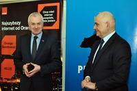 Galeria Podpisanie porozumienia z Orange Polska - 23 lutego 2017 r.