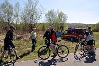 Galeria Objazd rowerowy miasta - 10 kwietnia 2017 r.
