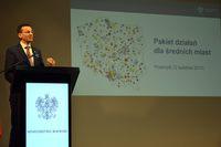 Galeria Ogłoszenie pakietu działań dla średnich miast - 12 kwietnia 2017 r.