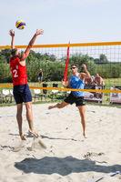 Galeria I Mistrzostwa Służb Mundurowych w siatkówce plażowej [fot. Kamil Krukiewicz]