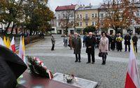 Galeria Kwiaty w rocznicę odsłonięcia pomnika Św. Jana Pawła II