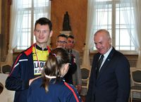 Galeria Gladiatorzy spotkali się z Prezydentem