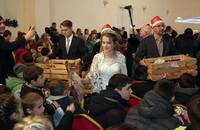 "Galeria Rusza akcja ""Mikołaj bez Granic 2017"""
