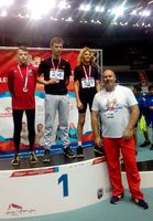 """Galeria Kolejny grad medali dla lekkoatletów z UKS """"Tempo 5"""""""