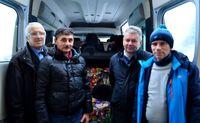 Galeria Świąteczne paczki dla Polaków z Mościsk