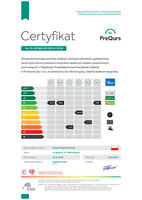 Galeria Certyfikaty MPEC