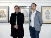 """Galeria Wernisaż wystawy malarstwa Marka Wiatra i rysunku Tomasza Wiatra """"Sztuka Wiatrów"""""""
