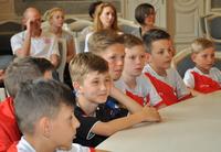 Galeria Spotkanie Prezydenta Miasta Przemyśla z UKS Orlik Przemyśl