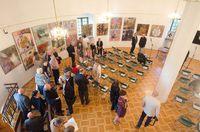 Galeria Międzynarodowe Triennale Malarstwa Regionu Karpat – SREBRNY CZWOROKĄT 2018