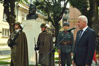 Galeria Odsłonięcie pomnika Józefa Piłsudskiego