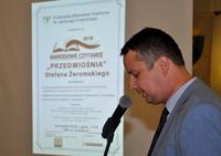 """Galeria Narodowe Czytanie """"Przedwiośnia"""" w Przemyskiej Bibliotece Publicznej"""