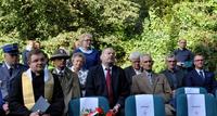"""Galeria Zielony pomnik w Parku. Franciszek Głowacz ma swój """"dąb pamięci""""."""