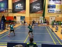 Galeria I runda Ekstraklasy Badmintona za nami. Aktywna Piątka sprawiła niespodziankę swoim fanom