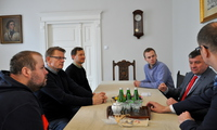 Galeria Szwedzi z wizytą u prezydenta nadsańskiego grodu