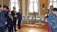 Galeria Przemyśl w rękach studentów. Prezydent Wojciech Bakun przekazał klucze