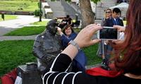 Galeria Goście z Turcji i Włoch, uczestnicy programu Erasmus+, w Przemyślu