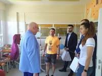 Galeria Dzień Dziecka w Przemyślu. Prezydent Miasta odwiedził małych pacjentów Szpitala im. Św. Ojca Pio