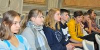 Galeria I LO odwiedzili uczniowie z Węgier. Zawitali też do przemyskiego magistratu