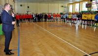 Galeria Mundurowi rywalizują o Puchar Prezydenta Miasta Przemyśla w halowej piłce nożnej